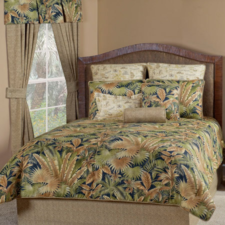 Bahamian Nights King Comforter Set