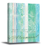 Mermaid Canvas Art