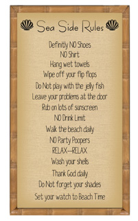 Sea Side Rules Stitchery