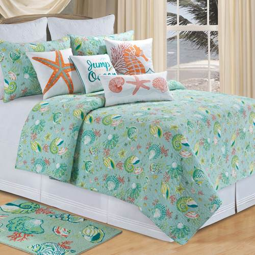 tropical bedding - Ocean Decor