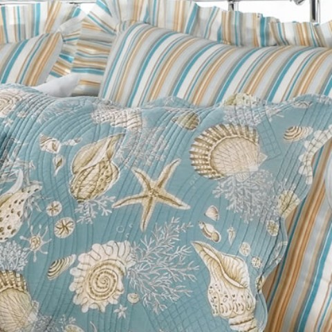 Natural Shells Standard Pillow Sham