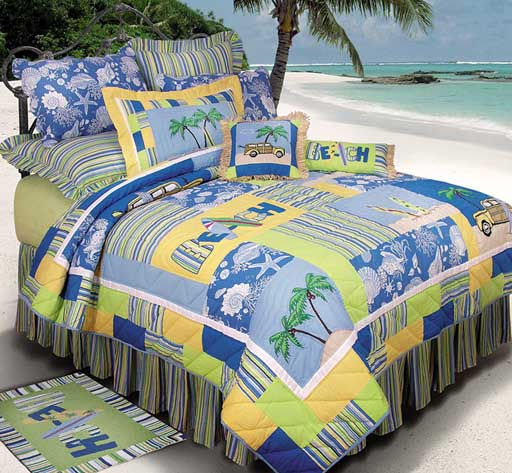 Surfer's Bay Standard Bedding Set