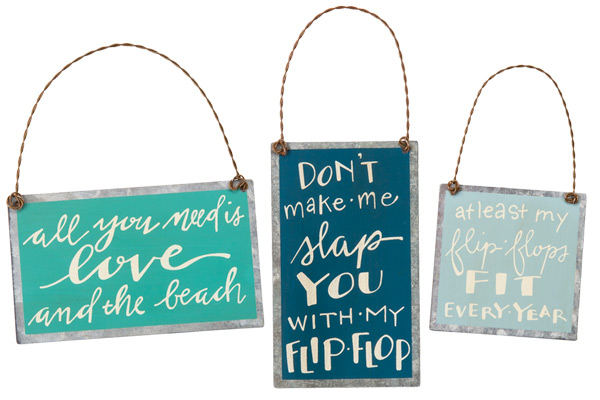 Flip Flop Love Ornaments