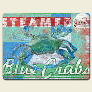 Jumbo Crabs Cutting Board