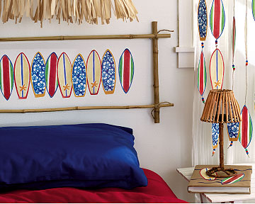 Surfboard Wall Cutouts