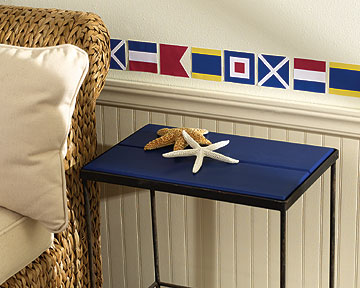 Nautical Flags Wall Cutouts