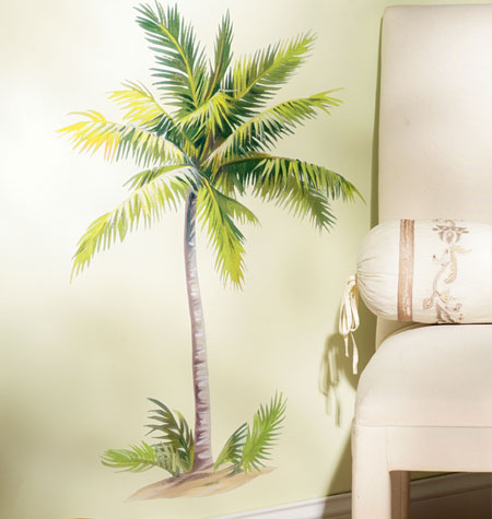 Palm Tree Peel & Stick Wall Mural