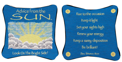 Advice From The Sun Pillow