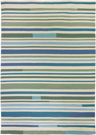 Sea Breeze Stripes Area Rug