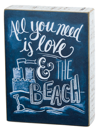 All You Need Chalk Box Sign