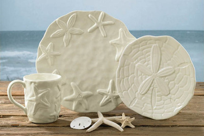 Beach Themed Dinnerware